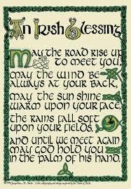 C'est tout ce que je vous souhaite dans La Pensée du jour irish-blessing