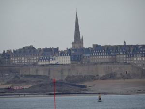 St Malo depuis Dinard