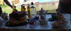 Table d'anniv